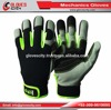 The Heavy Duty Hand Protection Mechanic Gloves Made in PU Leather