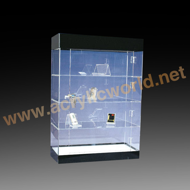 Acrylic mobile phone display stand, clear mobile phone display cabinet