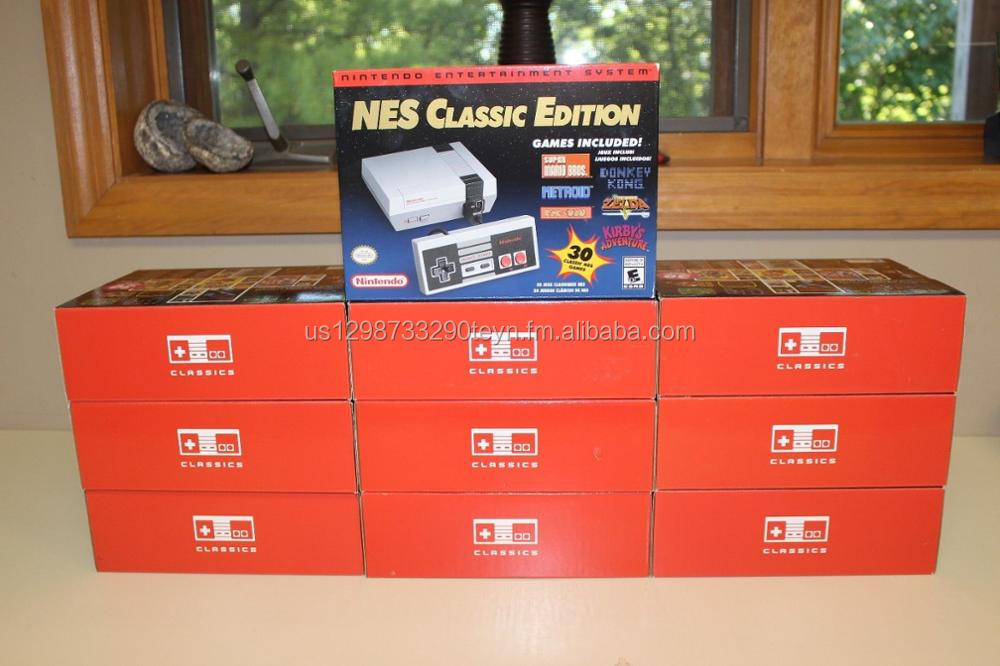 BUY AUTHENTIC 100% Nintendo Entertainment System NES Classic Edition White Console w 30 games