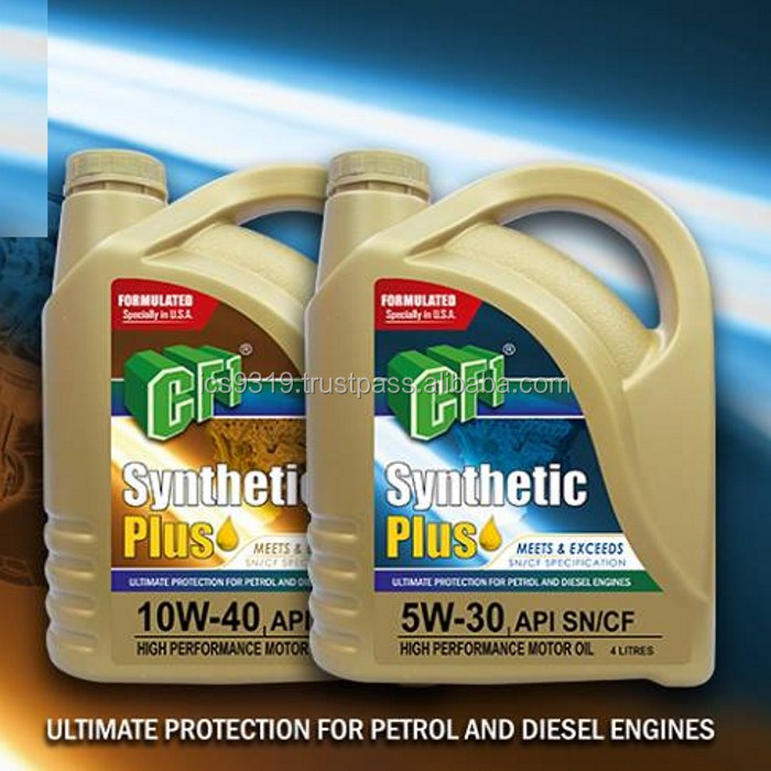 Engine Oil with Additive 10W/40 for Petrol Engines