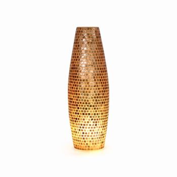 Zuma Floor Lamp With Capiz Shell,36X36X110 CM, Suitable for Your Indoor and Outdoor/Under Patio Area