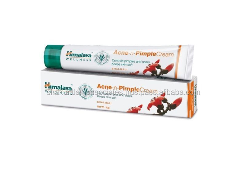 Himalaya Herbal Acne n Pimple Cream 20gm treats pimples and skin eruptions