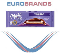ITR Triolade, Milk, White + Dark chocolate 300 g.