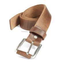 Vintage Full Grain Cowhide Leather Casual Men Genuine Leather Belt Formal Genuine Cowhide Leather Belt