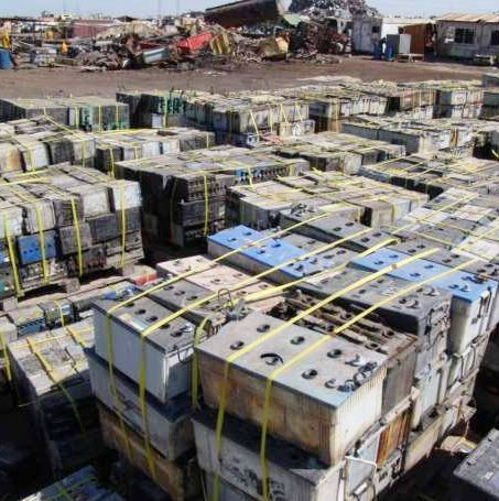 Auto Lead Acid Battery Scrap / Used Telephone Batteries