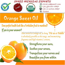Organic Sweet Orange Oil Wholesale Manufacturer from New Delhi India