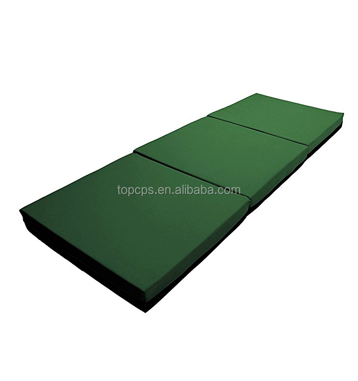 green 3 folding mattress memory foam mattress topper price reasonable outdoor mattress topper