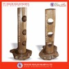 Cylinder True Red ( Standing Wine Rack - Wooden Recycle Standing Wine Racks & Bottle Holders )