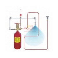 12kg automatic fire extinguisher, co2 fire suppression systems, fire detection tubing / direct and indirect release type