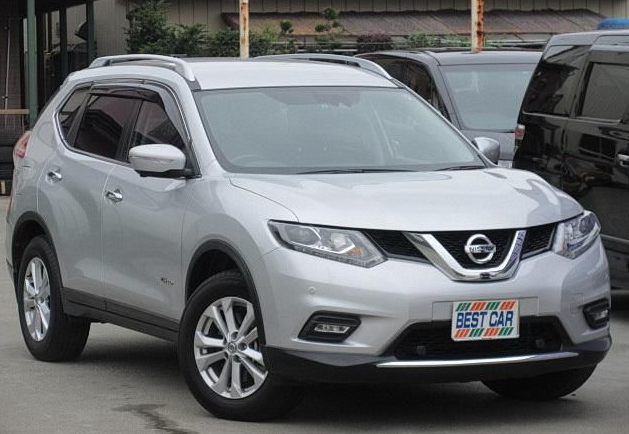 Good Condition Used Right-hand drive car 2015 Nissan X-Trail 20X Hybrid from Japanese Supplier
