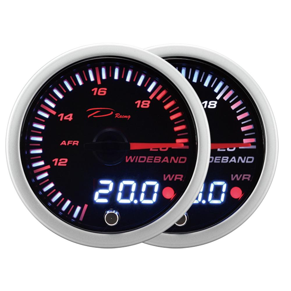 52mm Air Fuel Ratio Gauge Digital 30 OLED With Oxygen O2 Sensor Kit Auto Gauge Meter AFR WIDEBAND Set