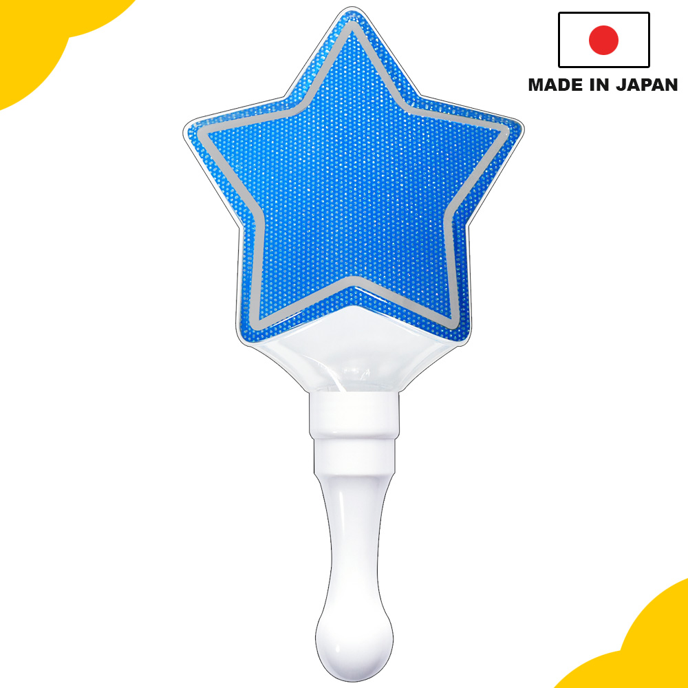 Reliable and portable led lighting, Kirakira Penlight stick star blue for concert and event, OEM available
