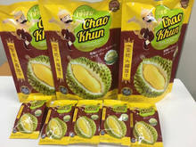 Dried Fruit : High Quality Vacuum Freeze Dry Durian - Chao Khun Brand - Dry fruit Snack