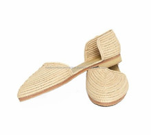 Best Quality Handmade Natural Raffia Shoes
