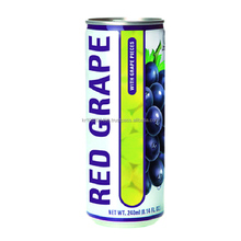 Dellos brand 240ml RED GRAPE JUICE WITH GRAPE PIECES