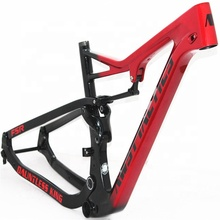 Full Suspension MTB Frame XC Mountain <strong>Carbon</strong> Framset BB92 UD Glossy Matte Mountain Bikes Frame 15.5'' 17.5'' Bicycle