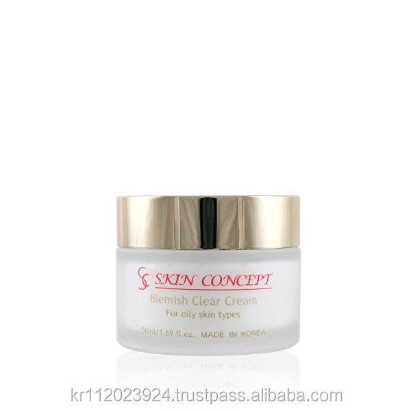 [SKINCONCEPT] Blemish Clear Cream for Troubled Acne Oily Skin Care Natural Korean Cosmetics