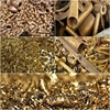 brass honey scraps / brass yellow scraps