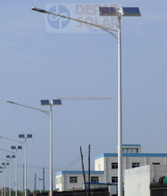 50W Solar Street Light 7m pole- DUBAI Series single arm