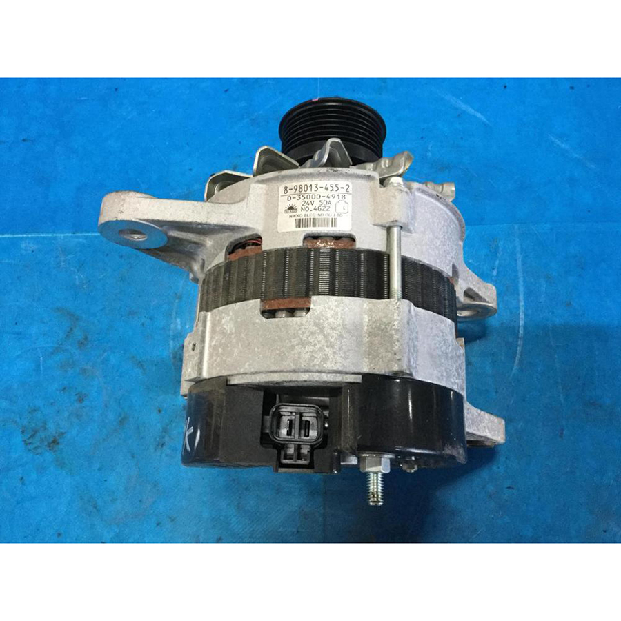 Used ISUZU generator parts diesel with different kinds of goods