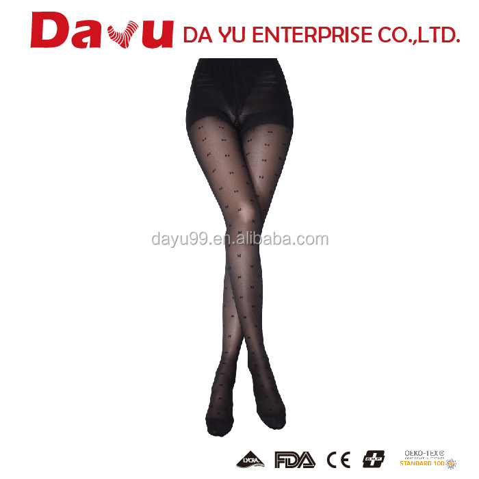 PATENT Snagging Resistance Fashion Pantyhose Made In Taiwan