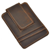 Crazy Horse Leather Moneyclip Made In