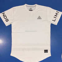 Men S Scooped Hem Custom T