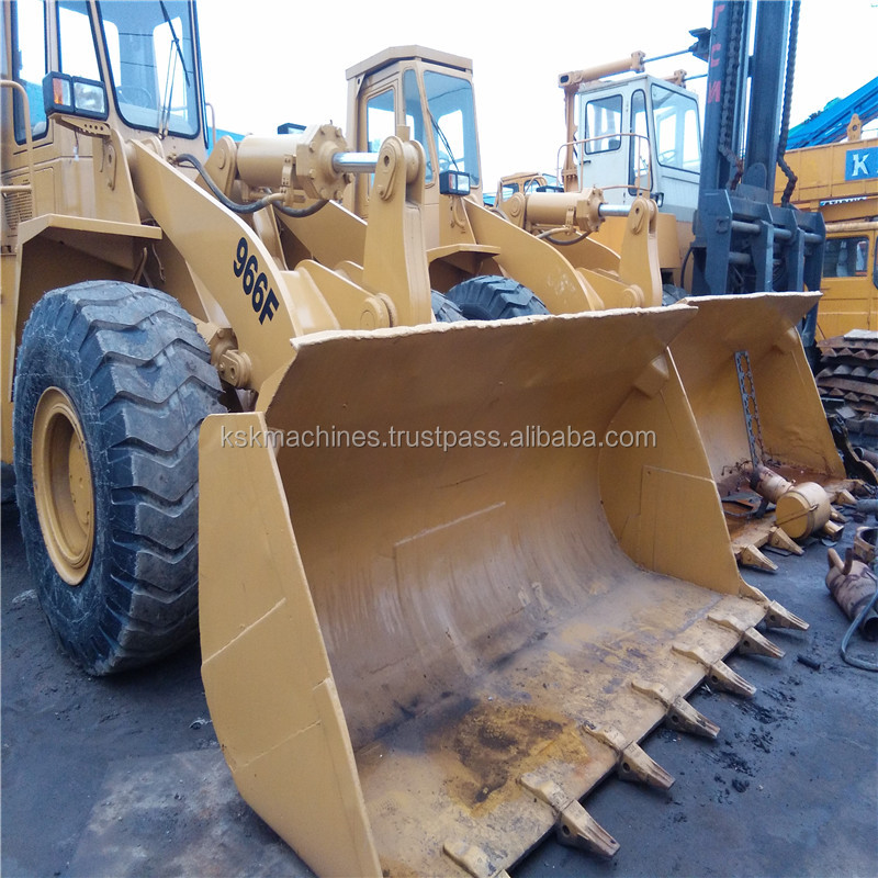 High quality used machine caterpillar 966F agricultural tractor for sale
