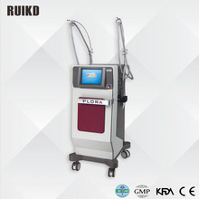RF fractional Micro needle and Non-needle wrinkle removal/shrinking large pores/ facial massage machine