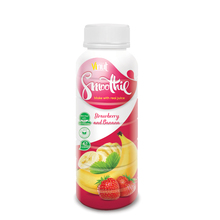 330ml Strawberry and Banana Smoothie Supplier