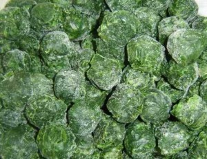 Grade AAA customer's choise Nature Color Frozen Chopped Spinach Bulk Frozen Vegetablesbulk sale