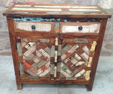 Wholesale Vintage Reclaimed Home Furniture Used Wooden Storage Cabinet