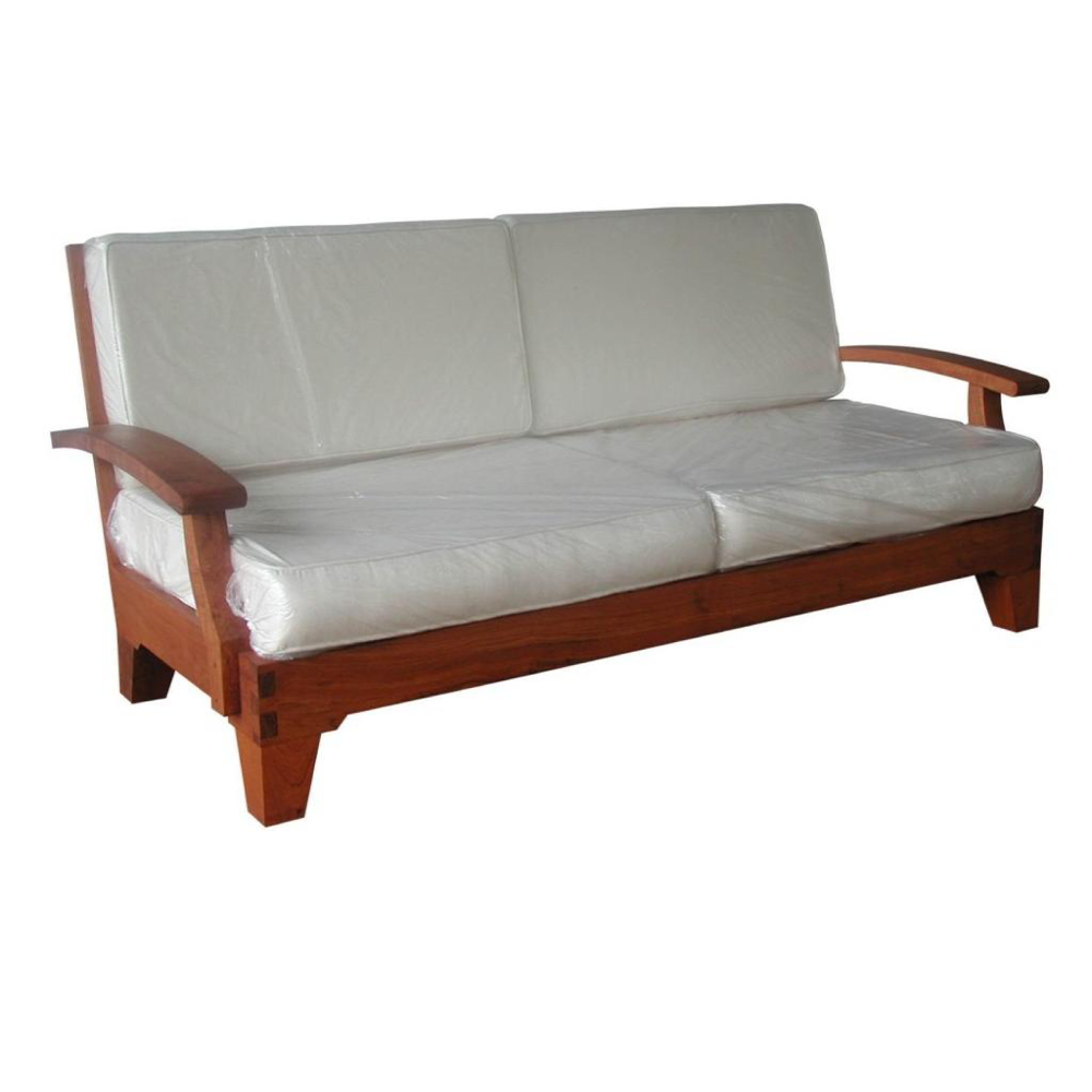 Indonesia Teak Furniture Sofa DW-SO001 - Indoor Wooden Teak Sofa Furniture