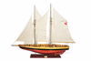 Wooden yacht model Bluenose II XL L210 cm - Vietnam handicrafts