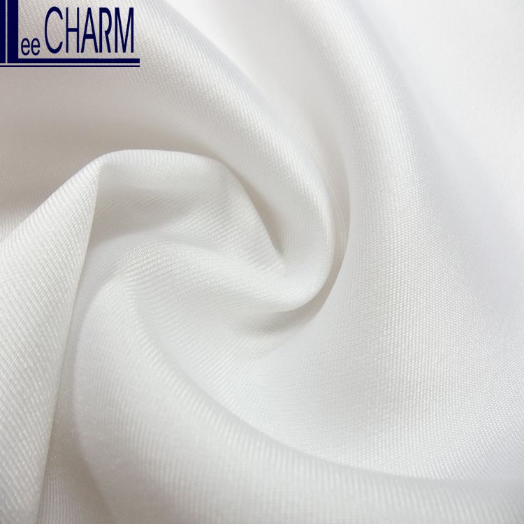 LC20308 Taiwan Wedding Gown Fabric White