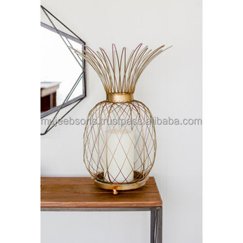 Decorative Pineapple Candle holder cum Pillar Holder Modern Utility