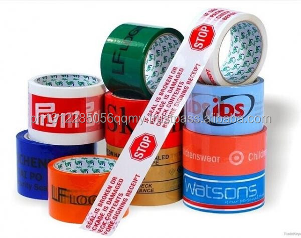 Aluminum foil adhesive tapes,double side and Carton Sealing Acrylic Clear