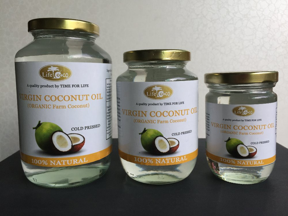 Best Quality Organic Farm Virgin Coconut Oil