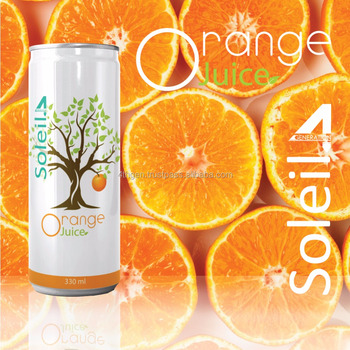 SOLEIL orange juice -250ml 500ml
