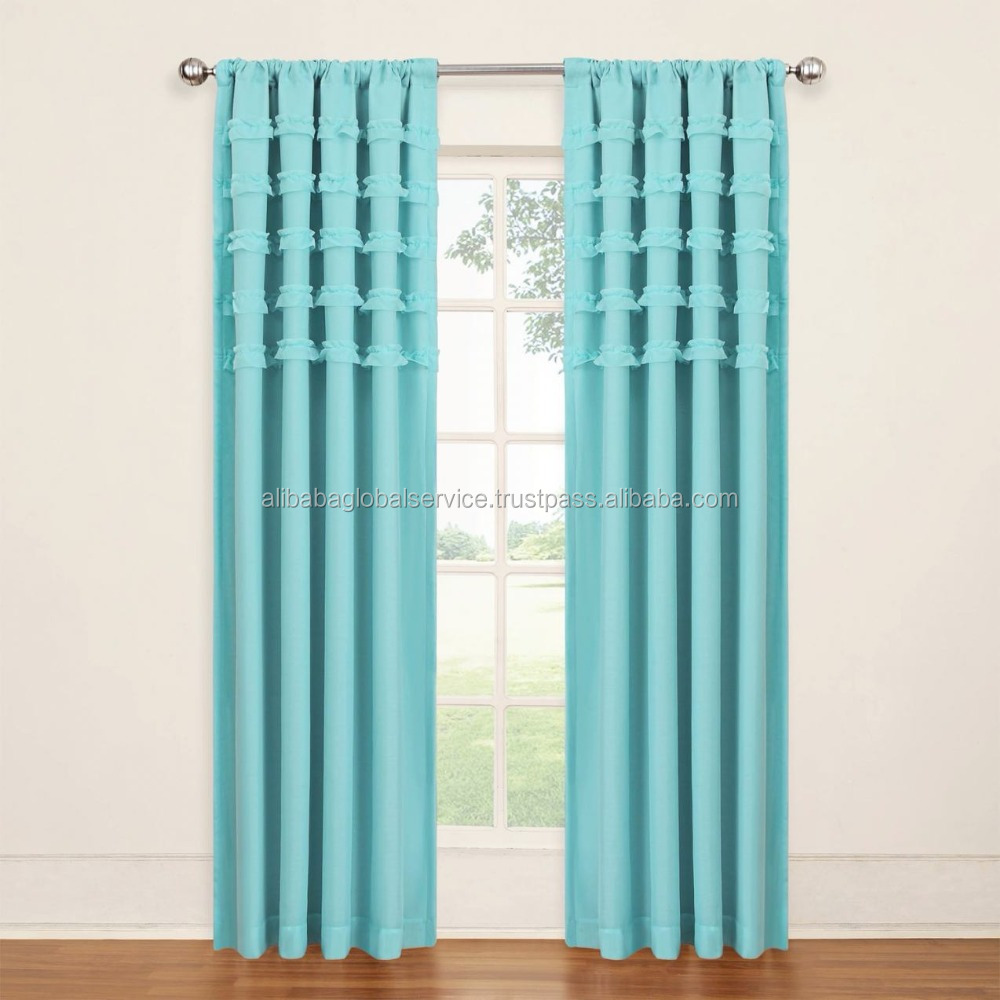 Latest Style Wonderful Luxury Curtain Design Collection