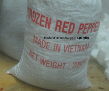 VIET NAM FROZEN RED CHILLI 3CM - 5CM - HIGH QUALITY - GOOD PRICE - hoang@vilaconic.vn