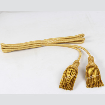 Cord Gold Rope Bishops Tussle Liturgical Cord Cincture for Cross