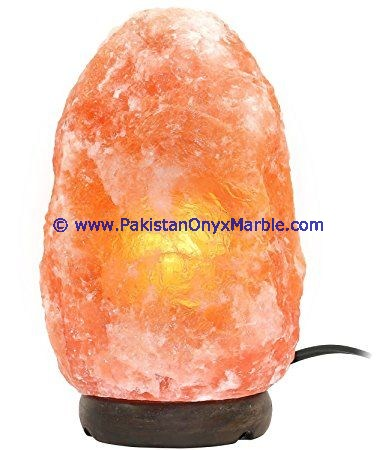 Natural Exquisite Hand Carved Himalayan Crystal Natural salt lamp 5-8 kg. Made with pure Himalayan natural pink crystals