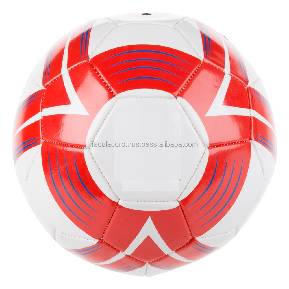 Official Team Football - Cyclone Ball - White,Red,Blue