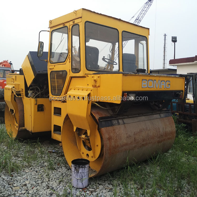 Used Germany Bomag road roller BW202AD on sale in China