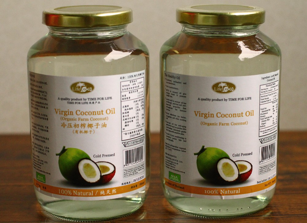 ORIGINAL THAI PURE VIRGIN COCONUT OIL