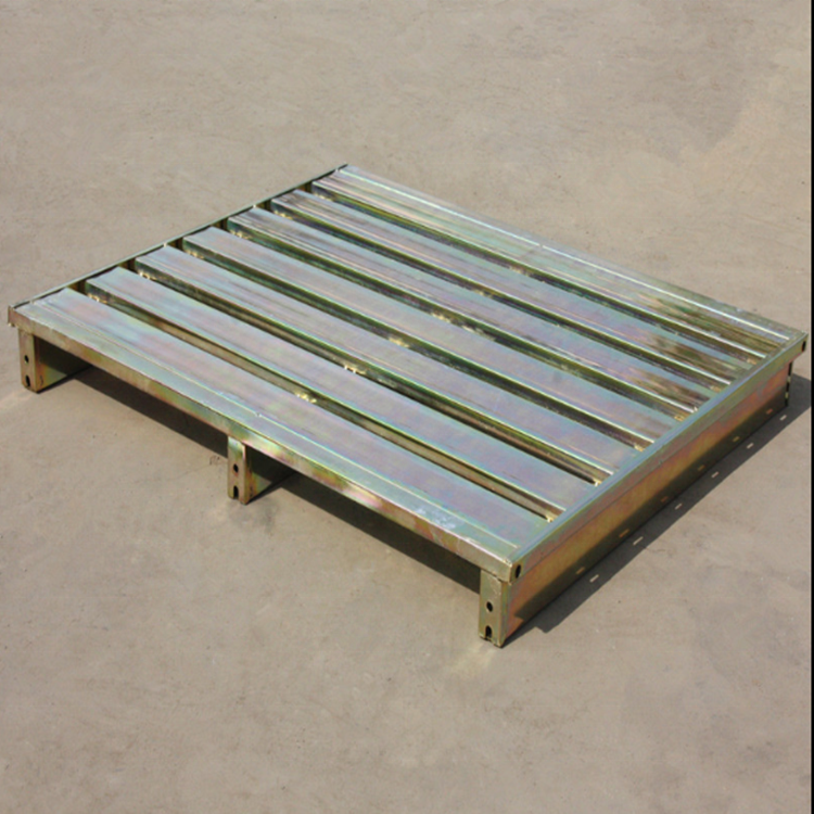 Euro standard galvanized stainless steel pallet two way or four way entry