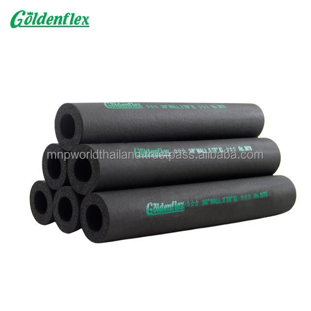 Goldenflex NBR rubber foam insulation tube