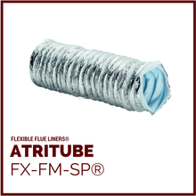 FX-FM-SP - Flexible Chimney Flue Liner Pipe Ducts, & Air Ducts with or without thermal insulation