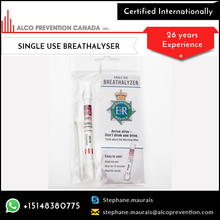 Breathalyzer Breath Alcohol Tester/ Professional Alcohol Content Detector at Wholesale Price